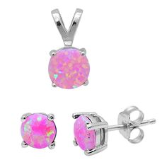 925 Sterling Silver Round Pink Fire Opal Earrings, Pendant & Chain Set :http://www.stormgems.co.za/product/925-sterling-silver-round-pink-fire-opal-earrings-pendant-chain-set/