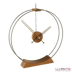 Aire clock top model ideal to complement decor. Andorra wall clocks offer original wall clocks Wood clocks - Muebles Julio LLuesma SL Wood clocks