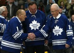 Leafs Legends: Dave Keon, Frank Mahovlich and Johnny Bower O Canada, Toronto Maple Leafs, Team Player, Montreal Canadiens, Nhl, Hockey, Leaves, True North, Athletics