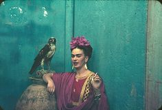 Frida photographed by Nickolas Muray