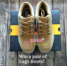 Just in time for the Holidays, win a pair of Lugz Footwear men boots