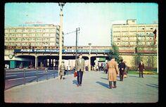 Blick von der Rathausstraße zum Alexanderplatz um 1965.....Heute Fußgängerzone....