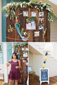 Boho Chic Baby Shower in California with like the floral designs, DIY yarn dream catchers & looms, a teepee, feather cookies, floral crowns, naked cake & more!