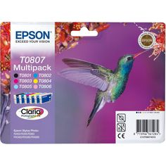 Buy Epson Ink cartridge multi pack, 220 pages, Pack qty 6 - For Only VAT) Online from SmartTeck. See our other Epson products.