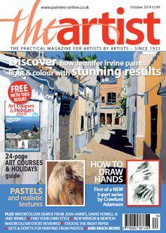 Leisure Painter and The Artist UK magazines The Artist Magazine, Magazine Art, Uk Magazines, Watercolor Disney, Art Courses, Learn To Paint, Funny Art, Art Activities, Graffiti Art