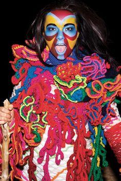 Björk como PUEBLO ORIGINARIO !!!