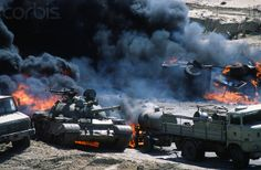 Liberation of Kuwait During Persian Gulf War - 0000264209-002 - Rights Managed - Stock Photo - Corbis