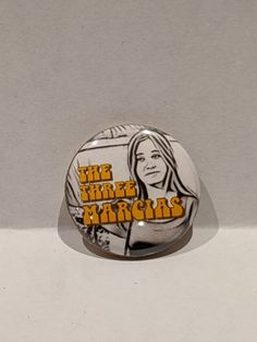 Folk Rock Band Button, Featuring The Three Marcias Cool Kids Club, Patti Smith, Tell The World, Cool Bands, Folk, Buttons, Etsy Shop, Cool Stuff, Popular