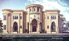 Villa Arabic-style Mixed