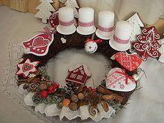 Dekorácie - vianočné ticho,vianočný čas-veniec - 5959495_