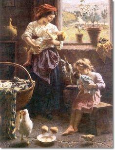 Eugenio Eduardo Zampighi - Two Families