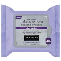 """Neutrogena 25 ct. Makeup Remover """"Night Calming"""" wipes $7.99 -- This work, just as well as the original and the CVS brand. The fragrance of them isn't a love of mine. I don't feel like I need to spend extra money just for that smell."""