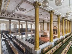 Interior of All Souls, Langham Place  © Chris Redgrave/English Heritage