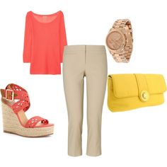 This is perfect for summer work outfit! Woo