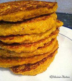 Healthy Pumpkin Pancakes!