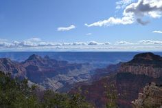 North Rim of the Grand Canyon. Only 5% of the people visiting the canyon ever see this side.
