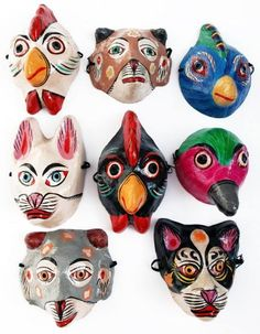 Colourfull masks