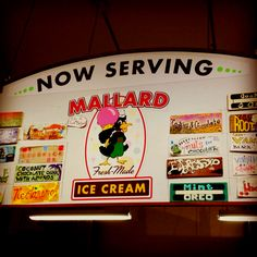 Mallard's ice cream, Bellingham, WA <3  Lavender, Rose, any flavor you can think of, better than Ben and Jerry's.