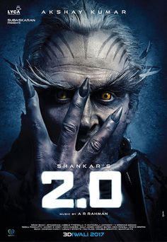 is an upcoming Indian bilingual science fiction film, shot in Tamil and Hindi languages, and directed by S. A sequel to his Tamil film Enthiran the film will feature Rajnikanth, Akshay Kumar and Amy Jackson in the lead roles. Movies 2017 Download, Download Free Movies Online, Free Movie Downloads, Hd Movies Online, Free Download, New Movies 2018, Latest Movies, Best Bollywood Movies, Bollywood News