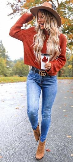 New fashion casual outfits winter ideas Trendy Fall Outfits, Cute Winter Outfits, Fall Fashion Outfits, Cute Casual Outfits, Fall Fashions, Jeans Fashion, Cute Winter Clothes, Fashion Clothes, Fashion Shoes