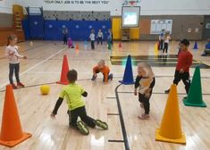 """Cardio Drumming Activity for Grades K-5 - """"Baby Shark"""" Theme - S&S Blog Elementary Physical Education, Physical Education Activities, Elementary Pe, Pe Activities, Team Building Activities, Educational Activities, Health Education, Gym Games For Kids, Pe Games"""