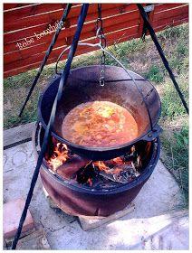 Böbe konyhája: Vörösboros marhapörkölt, bográcsban