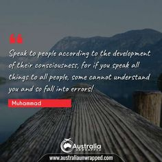 Meaningful & Inspirational Quotes by Prophet Muhammad - Australia Unwrapped Best Inspirational Quotes, Best Quotes, Beautiful Islamic Quotes, Perfection Quotes, Historical Quotes, Good Deeds, Human Mind, Prophet Muhammad, Understanding Yourself