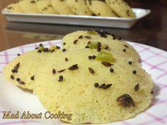 Besan Idli Dhokla – Breakfast