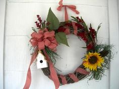 !!!!! My favorite wreath (today, that is)