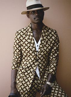 fashionsambapita: Dapper Lou #AfricanKing #AfricanPrints #AfricanStyle #AfricanInspired #StyleAfrica #AfricanBeauty #AfricanFashion