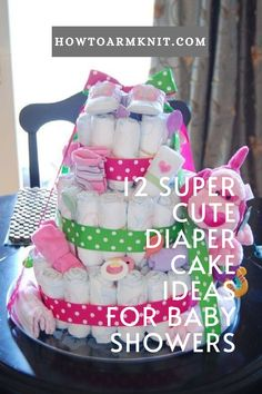 you looking for some 12 Super Cute Diaper Cake Ideas for Baby Showers These baby diaper cakes are so cute and awesome! Please come check out these patterns today. #12SuperCuteDiaperCakeIdeasforBabyShowers #Diapercakes #Cakes #Baby #Patterns Diaper Cakes, Baby Patterns, Baby Items, Baby Showers, Cake Ideas, Free Pattern, Crafts For Kids, Best Gifts, Super Cute