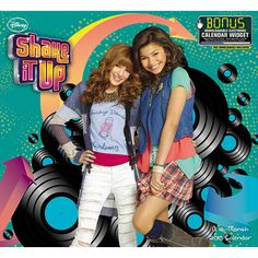 Shake It Up Wall Calendar: CeCe and Rocky are blowing up the Windy City! This new Disney Channel series follows the adventures of two girls who dream of becoming professional dancers. Dance trends are hot, and this show offers the best of music, moves, and humor.  http://www.calendars.com/Kids-TV/Shake-It-Up-2013-Wall-Calendar/prod201300005359/?categoryId=cat00071=cat00071