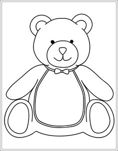 7 Best Ausmalbilder Teddy Images Bear Coloring Pages Teddy Bear