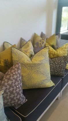 Design Team Fabrics - Nomadic African Collection Soft Furnishings, Couch Cushions, Decor, Home Decor Shops, Decorating Blogs, African Decor, African Inspired Decor, Home Decor, Home Decor Items