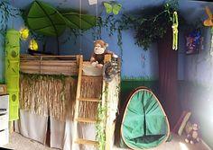 Kid's jungle room