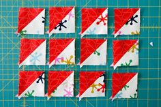 Perfect HST's - printable paper templates from Freshlypieced