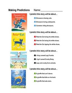 Making Predictions — Instant Worksheets | Education | Pinterest ...