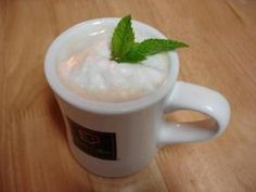 Mint Tea Latte Recipe | Add a bit of chocolate to this tea and this will be an excellent picker-upper for this chilly weather!