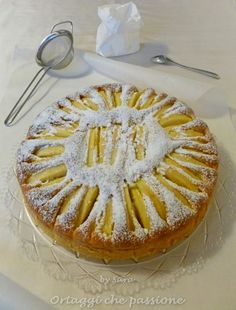 Torta di mele e mascarpone ( Apple cake with mascarpone )