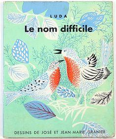 """luda """"le nom difficile"""" jean-marie granier 1959"""