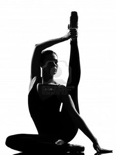One of my favorite poses, and I love that it's being done in ballet gear.