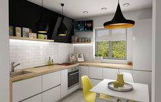 Design interior apartament 3 camere Unirii Bucuresti - iDecorate Design Interior, Kitchen Cabinets, Home Decor, Kitchen Cupboards, Homemade Home Decor, Decoration Home, Kitchen Shelves, Interior Decorating
