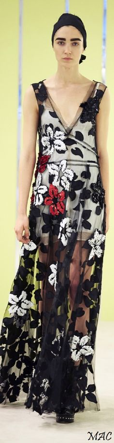 See-through skirts are in! Resort 2016 Marc Jacobs