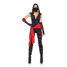 Ninja Kostuum - Dames Kleding - Rollenspel - Kinky-toys.eu