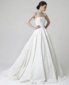 Editor's Pick: Rani Zakhem Wedding Dresses. To see more: http://www.modwedding.com/2014/08/18/editors-pick-rani-zakhem-wedding-dresses/ #wedding #weddings #wedding_dress