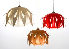 Unique lighting that is energy efficient and pretty. By Whiteman