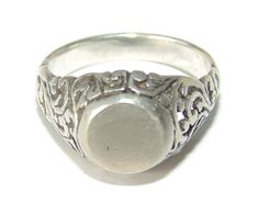 Gorgeous Vintage Estate Sterling Silver Modernist Statement Wrap Ring US Size 8 925 Jewelry Jewellery For Her