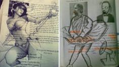 10+ Amazingly Defaced Textbooks That Look So Brilliant