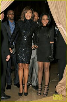 Whitney Houston and Bobbie Kristina Brown