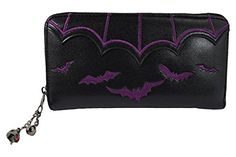 Banned Gothic Witch Gotham Knight Bat Attack Bat Logo Zip Around Wallet (Purple) Banned http://www.amazon.com/dp/B00VC424K2/ref=cm_sw_r_pi_dp_46mZwb1ST1WDT